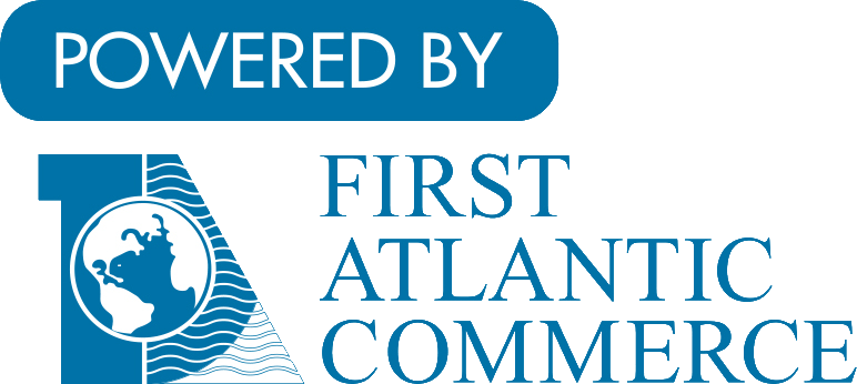 Powered by First Atlantic Commerce Logo